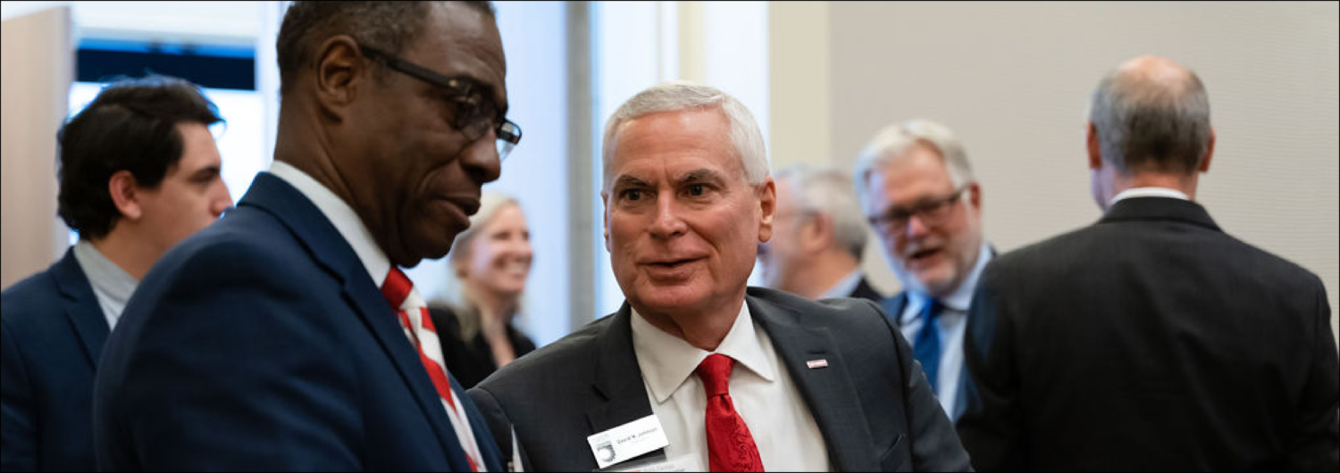 Leaders at the 2019 Dallas Herring Lecture